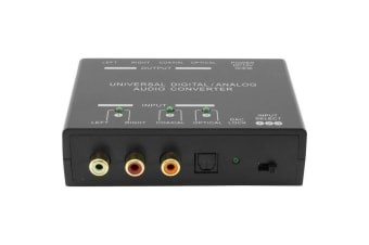 PRO2 Universal Dual Way Audio Converter Digital to Analog and Analog to Digital Converter