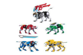 Voltron Metal Defender Lions on Voltron