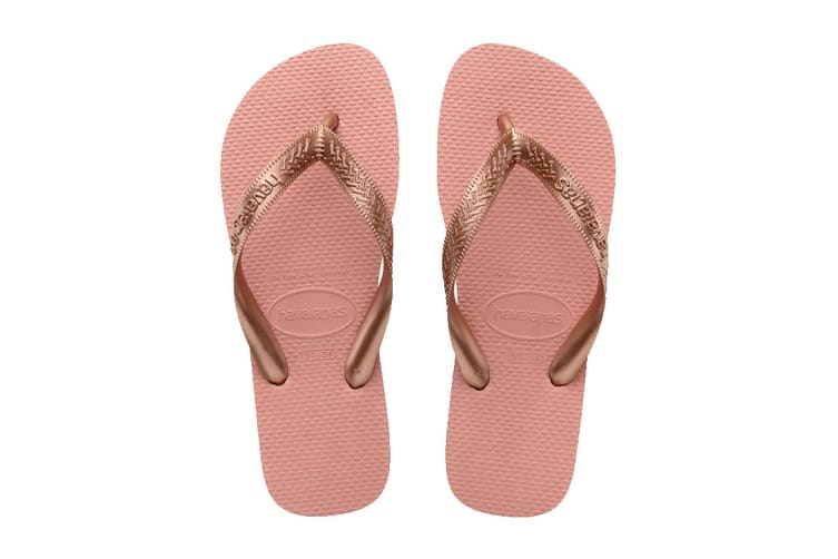 Havaianas Top Thongs (Nude Rose, Size 37/38 BR)