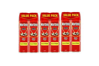 3x2PK Mortein 300g Fast Knockdown Multi Insect Killer Spray Cockroach/Mosquitoes