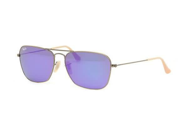 68b07631ba6 Shoes   Fashion     Sunglasses · Ray Ban. Ray Ban RB3136 - Demi Brushed  Bronze (Grey Mirror Purple lens) Mens Sunglasses