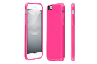 """Switcheasy Pink Numbers Case Cover/Bump Shock Rubber For Iphone 6 Plus 5.5"""""""