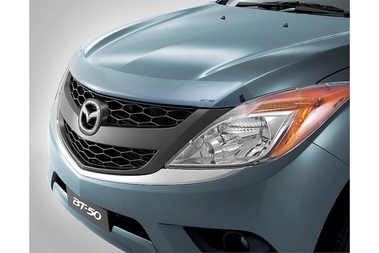 New Genuine Mazda BT-50 Ute Clear Bonnet Headlight Protector Combo 2011-Current