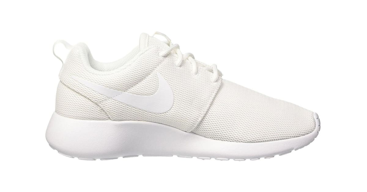 quality design c19e0 3ba62 Nike Women s Roshe One Low Shoe (White Pure Platinum, Size 8)