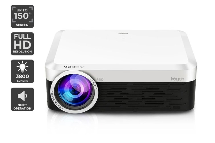 Kogan 3800 Lumens Full HD Projector (F500)