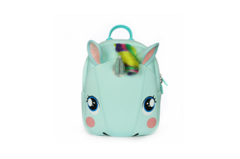 Cute Unicorn Backpack Children'S Diving Cloth Shoulder Pack - Green Blue Green