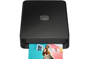 Lifeprint 2x3 Instant Wifi/Bluetooth Mobile Photo/Video Printer f/iOS/Android BK