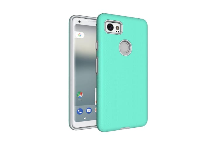 For Google Pixel 2 XL Case Strong Styled Armour High-Quality Durable Cover Green