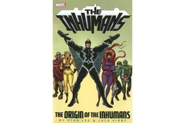 Inhumans - The Origin Of The Inhumans