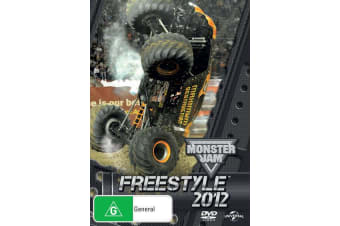 Monster Jam Freestyle 2012 DVD Region 4