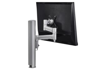 ATDEC AWM Dual monitor arm solution - 460mm articulating arms - 400mm post -