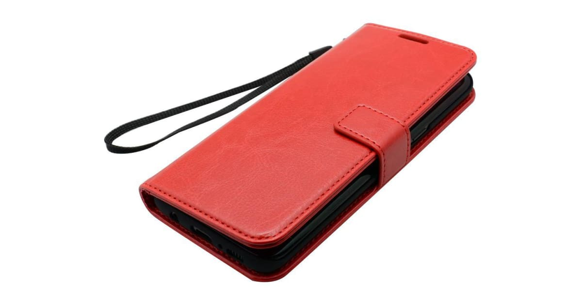 timeless design 8010a 0d66c For Samsung Galaxy S8 PLUS Wallet Case Elegant Luxury Durable Leather Cover  Red   Phone Cases