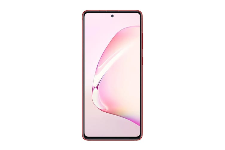 Samsung Galaxy Note10 Lite Dual SIM (6GB RAM, 128GB, Aura Red)