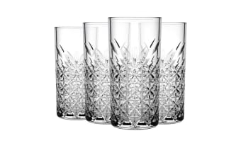 Pasabahce Timeless Hi-Ball Tumbler 450ml Set of 4