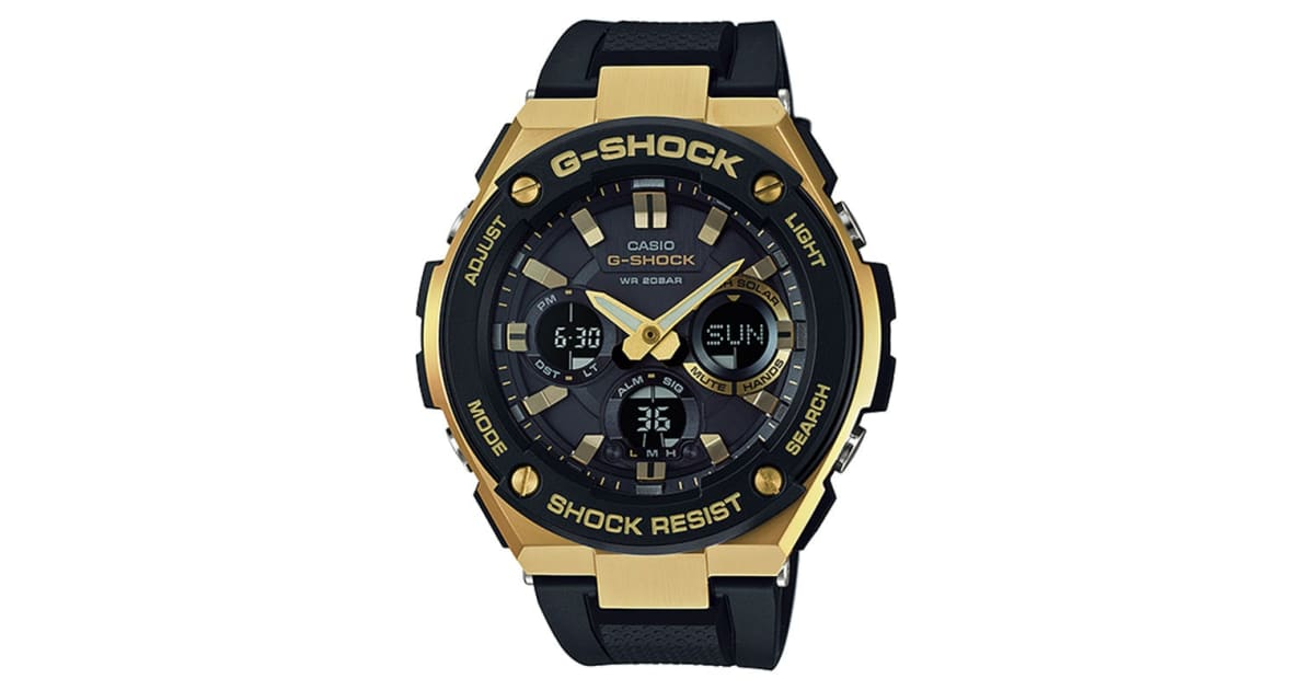c69e6be502e64 Casio G-Shock G-Steel Ana-Digital Watch - Black Gold (GSTS100G-1A) -  Kogan.com