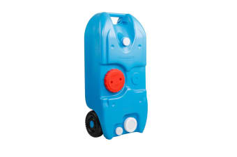 40L Portable Wheel Water Tank (Blue)