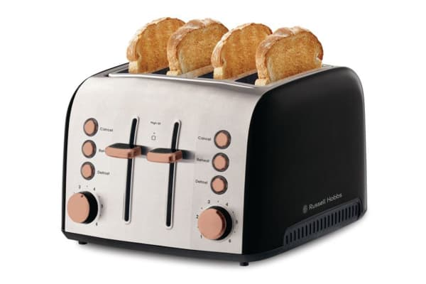 Russell Hobbs Brooklyn 4 Slice Toaster - Copper (RHT94COP)