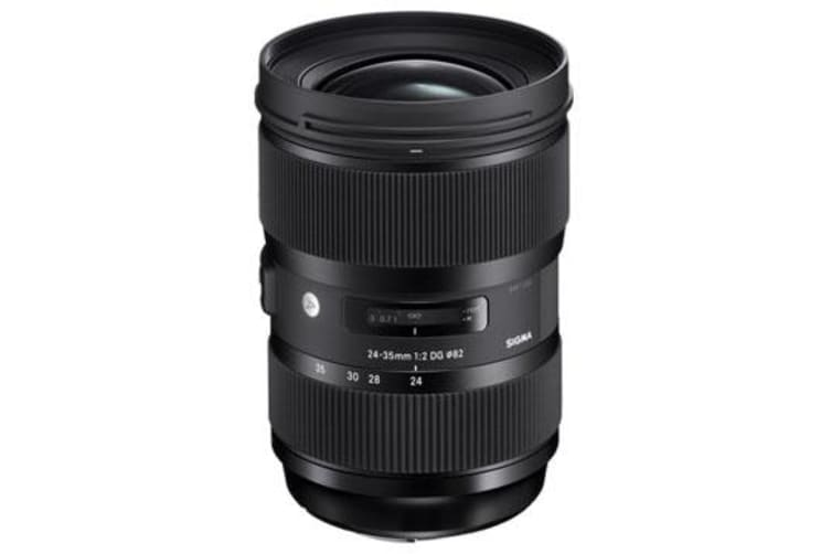 New Sigma 24-35mm f/2 DG HSM Art Canon Lens (FREE DELIVERY + 1 YEAR AU WARRANTY)