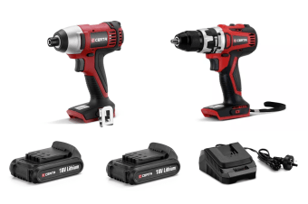 Certa PowerPlus 18V 2 Piece Set (Brushless Drill)