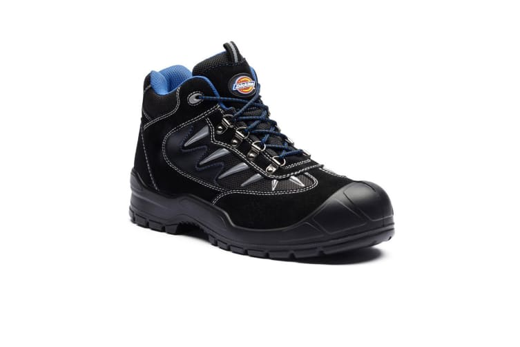Dickies Mens Storm II Safety Boot (Jet Black) (6)