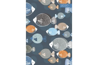 Once I Caught a Fishy - 2020 Premium Diary Planner A5 Padded Cover New Year Gift