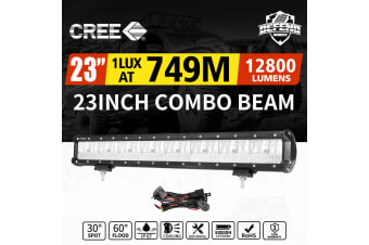 DEFEND 23inch CREE LED Work Light Bar Work Driving Lamp Combo OffRoad 4WD