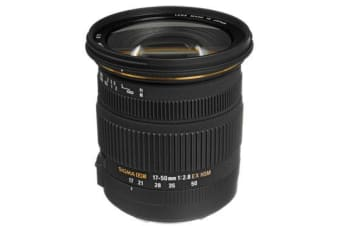 New Sigma 17-50mm f/2.8 EX DC OS HSM Zoom Lens with APS-C Sensors (Canon) (FREE DELIVERY + 1 YEAR AU WARRANTY)
