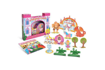 Fairytale Castle Press Out Play Set and Book