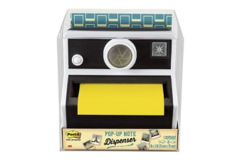 3M Post-It Pop Up Note Dispenser CAM-330 Camera Black