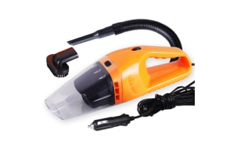12V Portable Handheld Vacuum Cleaner Car Boat Vans Orange