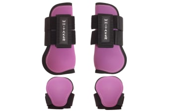 Whitaker Skipton Tendon & Fetlock Boots Set Of 4 (Purple)