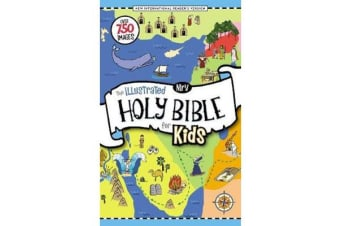NIrV, The Illustrated Holy Bible for Kids, Hardcover, Full Color, Comfort Print - Over 750 Images