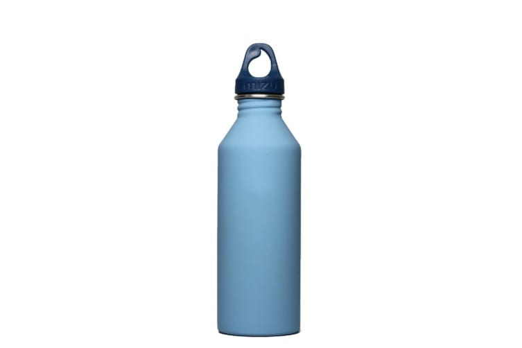 Mizu M8 Soft Touch Hydration Bottle 27oz (800ml) - Light Blue (No Logo)