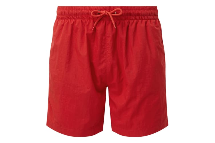 Asquith & Fox Mens Swim Shorts (Red/Red) (XL)