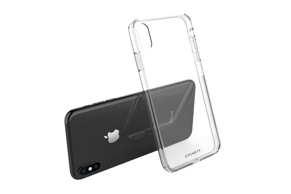 Cygnett AeroShield Slim Protective Case for iPhone Xs Max - Crystal (CY2602CPAEG)