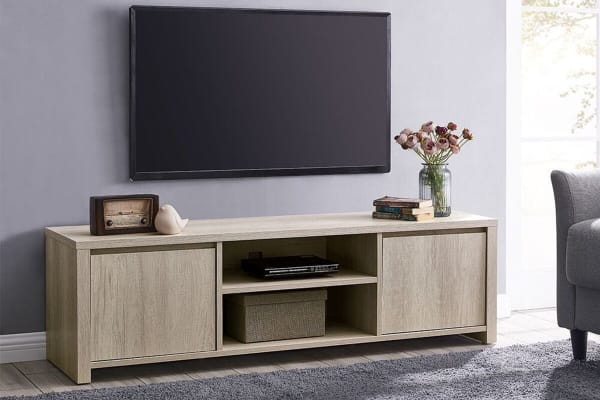 Shangri-La TV Entertainment Unit - Alta Collection (145cm, Dusky Oak)
