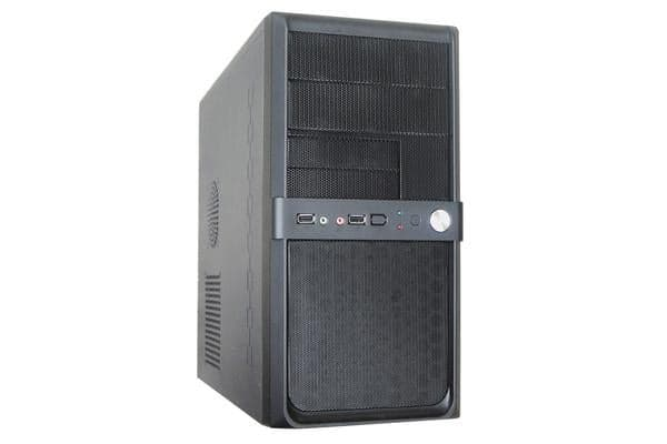 Aywun 210 mATX Integrator's case with 500w PSU, 24PIN ATX, 1x USB3 +1x USB2 Front HD Audio, No LED Fan,  2 Yrs Warranty