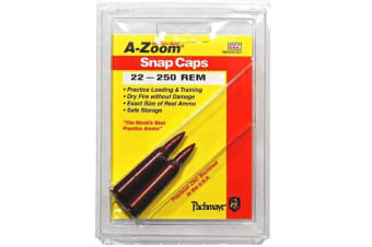 A-Zoom Snap Caps,22-250 2Pk
