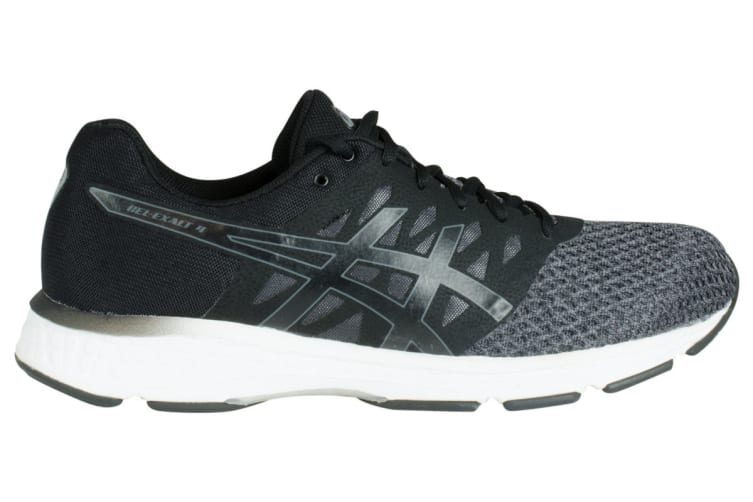 ASICS Men's Gel-Exalt 4 Running Shoe (Dark Grey/Black/White, Size 11.5)
