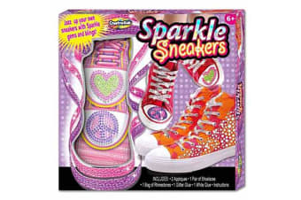 Creative Kids Sparkle Sneakers Design Kit