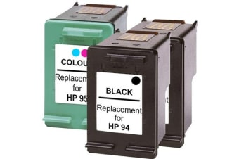 #94 Remanufactured Inkjet Cartridge Set with Extra Black