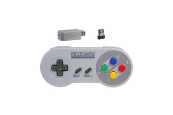 Rechargeable Wireless Controller For Snes/Sfc Classic Edition Multi Button