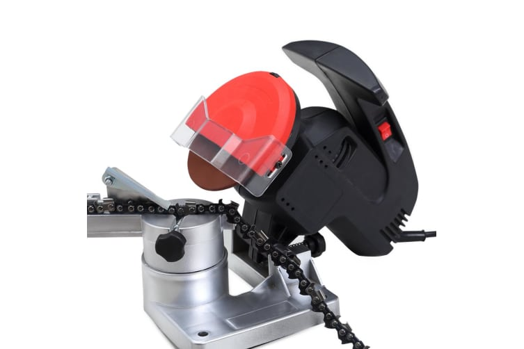 Traderight Chainsaw Sharpener Bench Mount Electric Grinder Pro Tool Fast Post AU  -  Chainsaw Sharpener