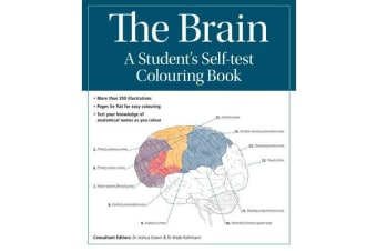 The Brain - A student's self-test colouring book