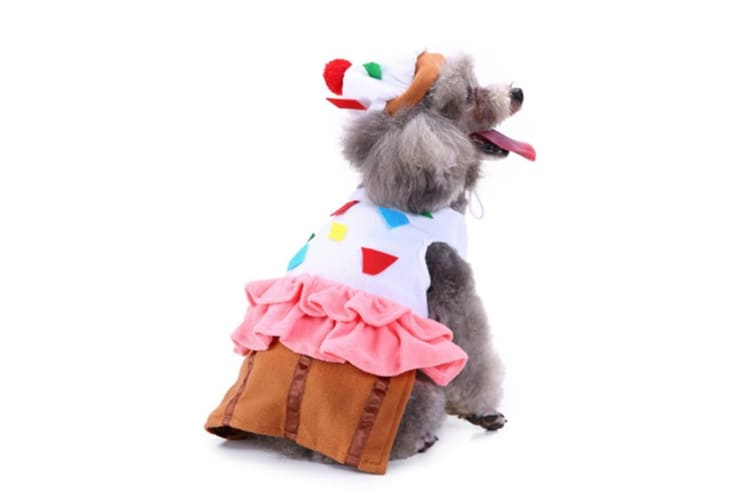 Dog Costumes Holiday Halloween Christmas Pet Clothes Soft Comfortable Dog Clothes L