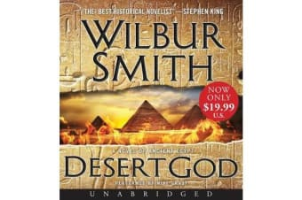 Desert God Unabridged Cd - A Novel Of Ancient Egypt