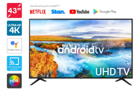"Kogan 43"" Smart HDR 4K UHD LED TV Android TV™ (Series 9, RU9210)"