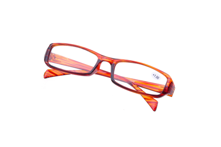 High Quality Unbreakable Presbyopic Reading Glasseses For Elders With Different Degrees Brown Degree +2.00