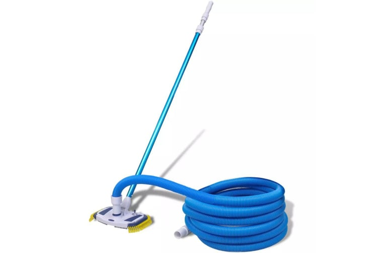 vidaXL Pool Cleaning Tool Vacuum with Telescopic Pole and Hose
