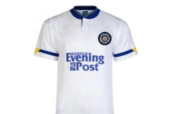 Leeds United 1992 Shirt (White) (Small)
